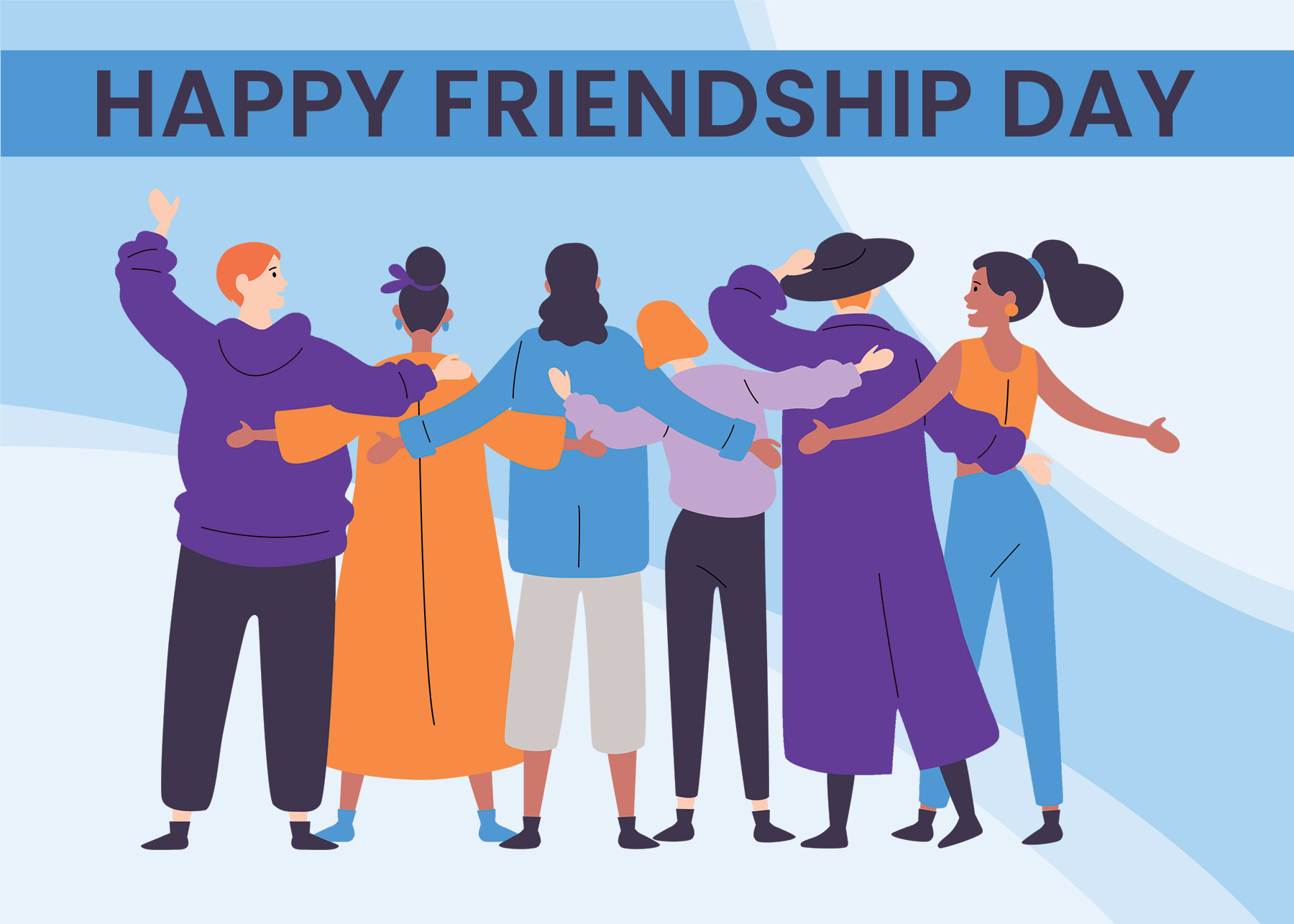 Social Media International Friendship Day