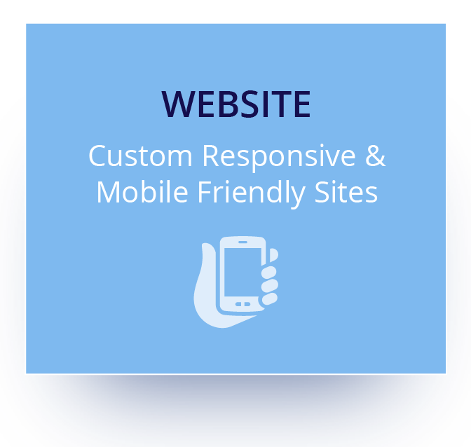 Learn more about custom, responsive, and mobile friendly websites.