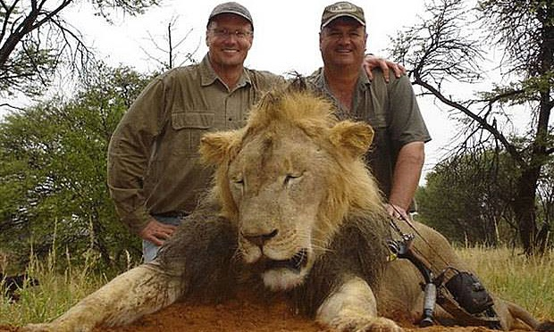 Source of Walter Palmer with Cecil the Lion Attributed to Facebook