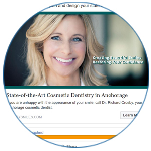 Photo of Facebook ad created by WEO Media Dental Marketing